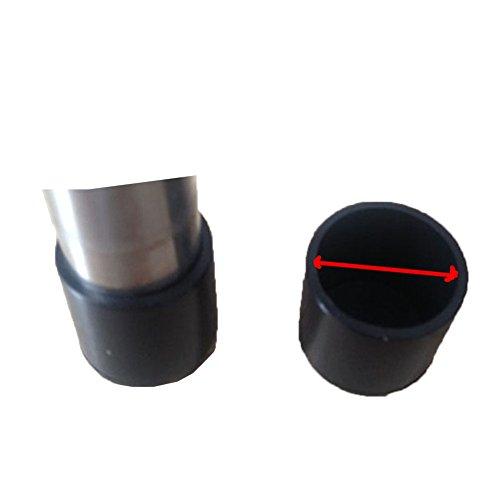OHmais 4pcs Silikon stuhlbeine Fußkappen Schutzkappen Tassen Pads Möbel Tisch deckt Boden Protektoren Chair Leg Pads für Kaliber 30mm Runde Beine - 30 Runden Tisch