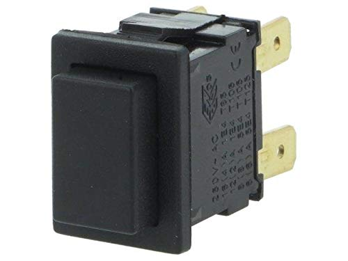 AE-H8351ABAAAT Switch push-button 1-position DPDT 12A/250VAC Positions Dpdt Push-button