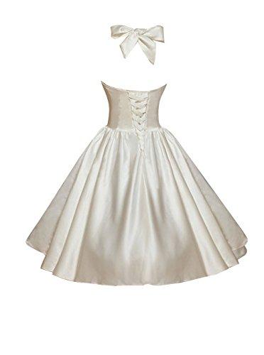 Find Dress Femme Elégant Robe de Soirée/Cocktail/Cérémonie Style Empire Décolleté au dos en Satin Elastique Bleu