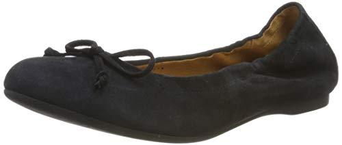 Gabor Shoes Damen Casual Geschlossene Ballerinas, Blau (Pazifik 16), 37 EU -