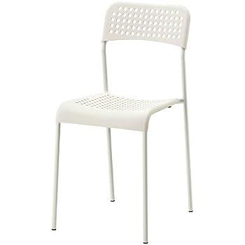 ikea stapelstuhl adde stuhl aus kunststoff mit stahlgestell stapelbar schwarz. Black Bedroom Furniture Sets. Home Design Ideas