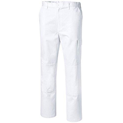 Pionier pantaloni da lavoro cotone puro, bianco, 9394-29