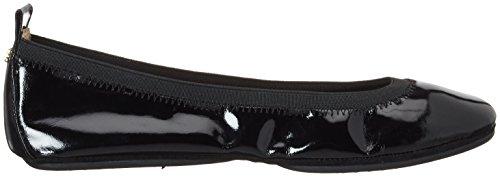 Yosi Samra Samara Flat Patent 2 W, Ballerine Donna nero (nero)