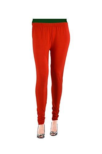 Roshnee Collection Lycra Premium Leggings - Red (XXL)