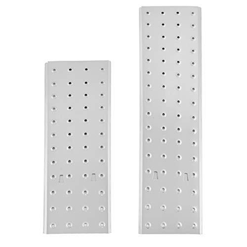MAXCRAFT Gerüstplatten Set zum Auflegen für 4x4 Sprossen Multifunktionsleiter Mehrzweckleiter Aluleiter Gelenkleiter Stehleiter Klappleiter aus Aluminium