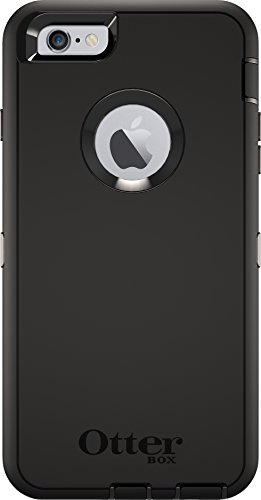 OtterBox DEFENDER iPhone 6 Plus/6s Plus ONLY Case - BLACK (I Box Otter 6 Clips Phone)