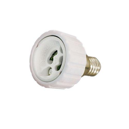 Ledbox LD1143105 % 2Fconversor Adaptateur pour ampoules GU10 Vers E14