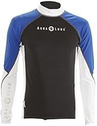 Aqualung Rash Guard Jacket  Jacke mit Kaputze  Top  UV Shirt  Damen Herren