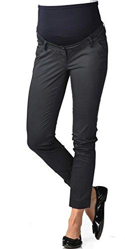 Christoff Damen Chino Hose Straight Fit (Gerades Bein) Umstandshose 280/25 Farbe: marine Größe: - China Farben