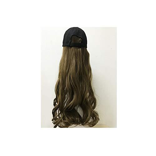 Baseball Cap Perücke Schirmmütze Curly Women Cosplay Hair für Outdoor Shade im - Pin Head Kostüm