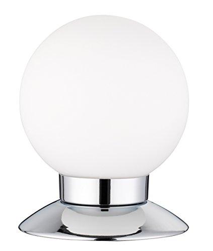 Reality Leuchten R52551906 Princess A+, LED Tischleuchte, 3 Watt, Integriert, Chrom, 4-fach Touch Dimmer, 10 x 10 x 13 cm -