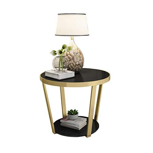 C-J-X TABLE C-J-Xin Marmortisch, Teetisch Couchtisch Kreative Wohnzimmer Sofa Seite Schlafzimmer Nachttisch Runde Tisch Freizeit Tisch Platz Sparen (Farbe : #14) | Schlafzimmer > Nachttische | C-J-X TABLE