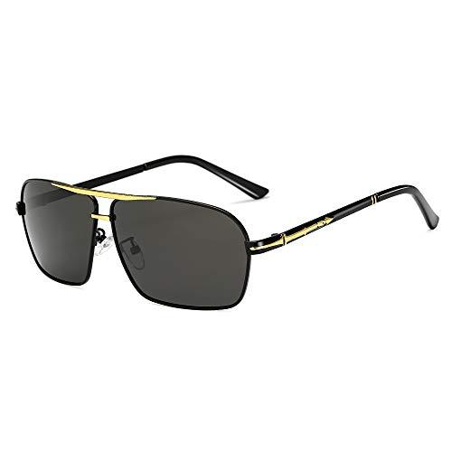 YJIU Sonnenbrille Men Square Sonnenbrillen Polarisierte Sonnenbrillen Sonnenbrillen Großhandel Driver Driving Color Film Blue Square Sonnenbrillen (Color : 4)