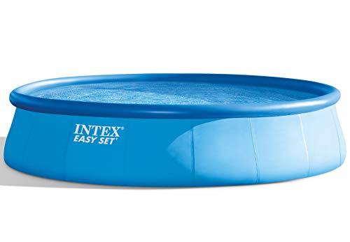 Intex Easy Set Pool Set - Aufstellpool - Ø 549 x 122 cm - Zubehör enthalten