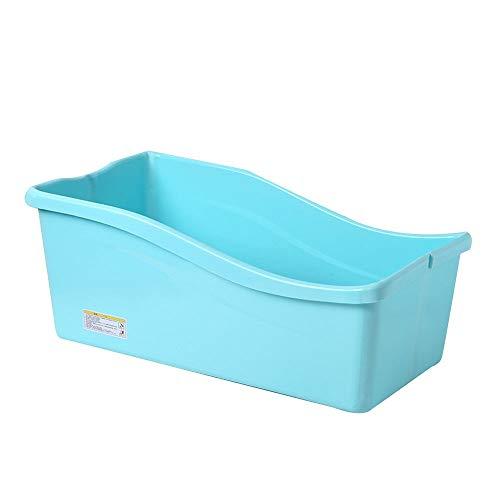 ZBBY Bañera para Adultos Bañera Plegable portátil,Bañera para niños pequeños,Bandeja de Ducha...