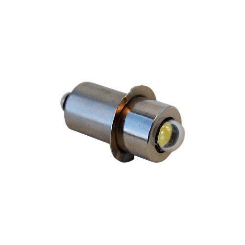 HQRP high power 3W LED Ersatzbirne 100LM 7-30V für Makita BML185, BML185W Taschenlampe A-94502, A94502