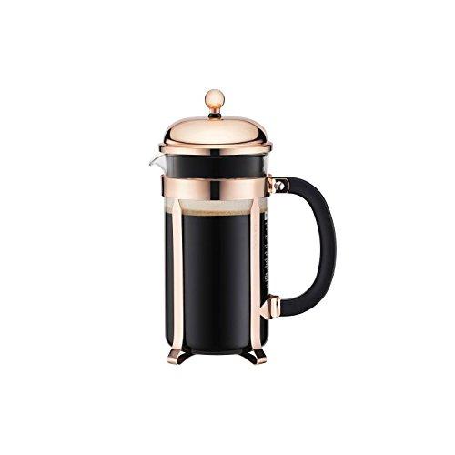 Bodum Chambord Copper Coffee Press Maker 8 Cup – 1.0 L, 34 Oz (Pack of 4)