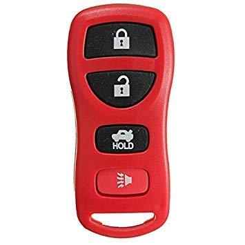 VISTARIC Keyless Remote Key Fob Case Transmisor Clicker Alarm para Nissan