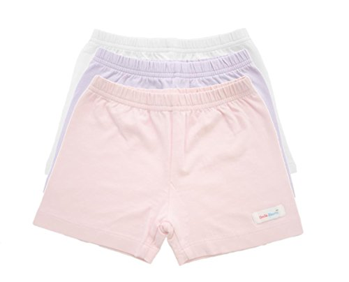 All in One Girls Under Shorts - Modesty Shorts, Under Dress Shorts for Girls, Underwear