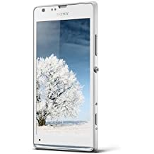 Sony Xperia SP Smartphone (11,7 cm (4,6 Zoll) Touchscreen, 1,7GHz, Dual-Core, 1GB RAM, 8GB interner Speicher, 8 Megapixel Kamera, NFC, Android 4.1) weiß
