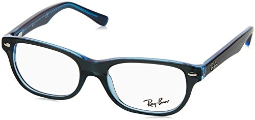 Ray-Ban Unisex-Kinder 0RY 1555 3667 48 Brillengestelle, Blau (Topo On Blue Fluo)