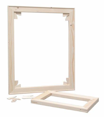 Deknudt Frames S335 Zubehör und Verschiedenes 60x80 rechteckiger Keilrahmen Holz Accessoires en...