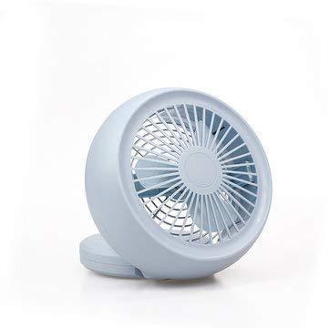 DyNamic Usb Tischventilator Tragbarer Persönlicher Mini Tischventilator Pc/Laptop Cool - Blau