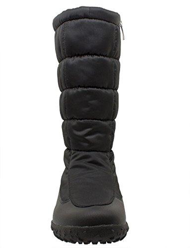 Styl Grand - 2723 - Bottes de neige Femme Noir