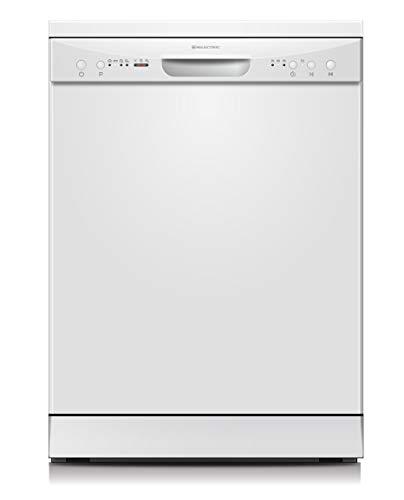 El lavavajillas de libre instalación LPL-306 Milectric blanco te ofrece una capacidad de hasta 12 servicios con un consumo por ciclo aproximado de tan solo 1.02kWh. La clasificación energética es A+, lo que te permitirá ahorrar en tu factura de la lu...