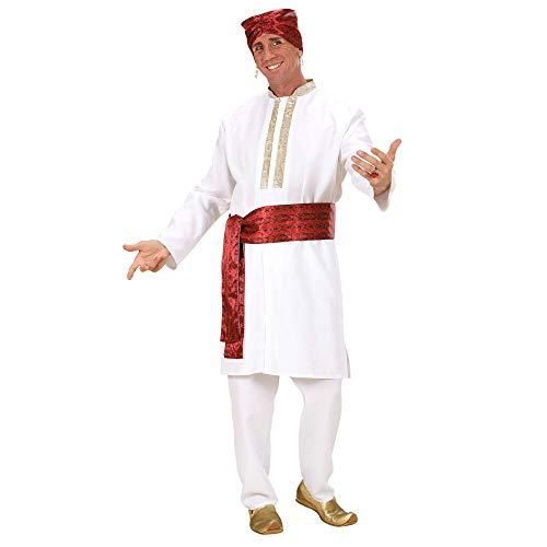 WIDMANN 73822 Kostüm Bollywood Star, Weiß, M