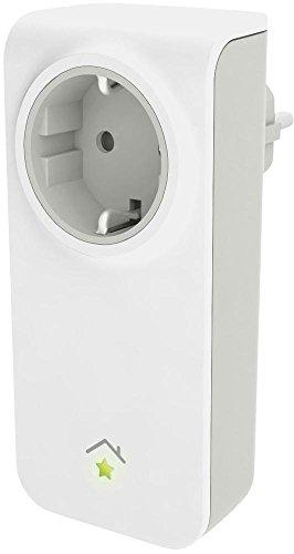innogy SE SmartHome Zwischenstecker / Steckdosensteuerung, App-Steuerung(auch über Amazon Echo/Alexa), Schaltung elektrischer Geräte, einfache Montage, für europäische Steckdosen (Typ C), 10267413