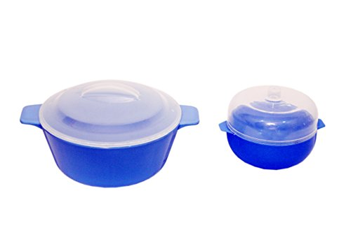 Trust Sharp 2 Pcs Microwave Cookware Combo Set  available at amazon for Rs.199