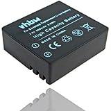 Batterie Li-Ion vhbw 900mAh (3.7V) pour caméscope, caméra sportive Qumox SJ4000. Remplace batterie: SJ4000.