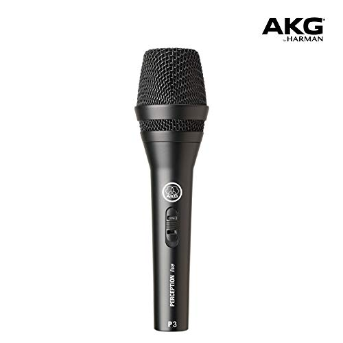 AKG P3 S - High-performance dynamic microphone with on/off switch