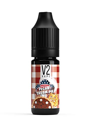 V2 Vape Pecan Cream Pie USA Style AROMA / KONZENTRAT 10ml nikotinfrei -