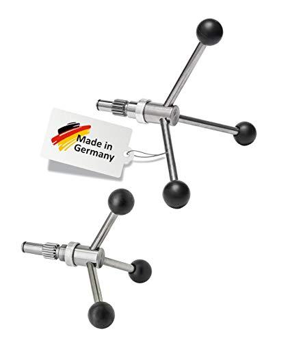 WABECO 3-Speichen Drehkreuze zu WABECO Bohrständer Fräsständer