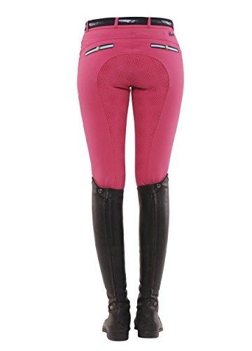 SPOOKS Reithose für Damen Damenreithose Reithosen Turnierreithose Vollbesatzreithose vollbesatz - Ricarda Full Grip - Pink M