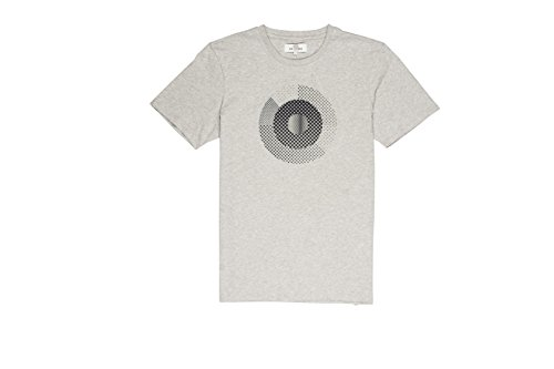 ben-sherman-hero-pixelated-target-camiseta-para-hombre-grau-light-ash-marl-em8-l