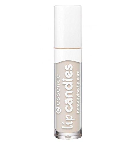 Essence Lip Candies beautifying lip care, Gloss à lèvres enrichi en aloe vera pour des lèvres douces et brillantes de couleur n°07 Vanilla cream, 4 ml, 0.13 fl.oz