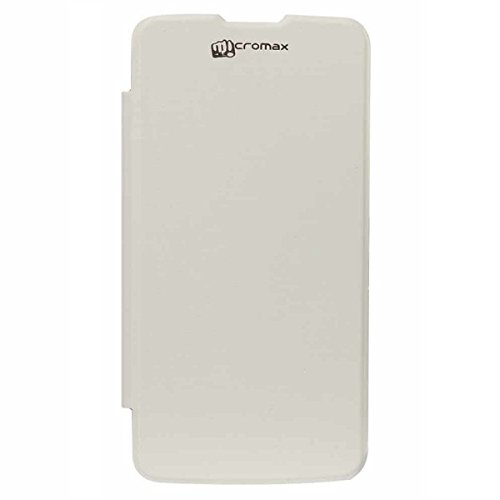 YGS Flip Cover Case for Micromax Canvas Power A96 White  available at amazon for Rs.199