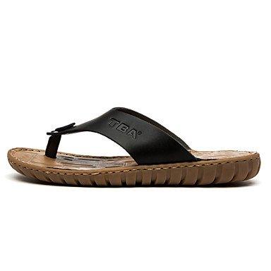 Scarpe da uomo in pelle Nappa Outdoor / Casual Outdoor / Casual Sandali Sport Tallone piano Vuoto-ou sandali US7 / EU39 / UK6 / CN39
