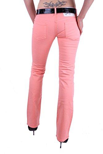 Just Cavalli Damen Jeans Hose Röhre Skinny Rosa