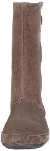 Crocs Berryessa Tall Suede Boot, Boots femme Marron (Espresso/Espresso)