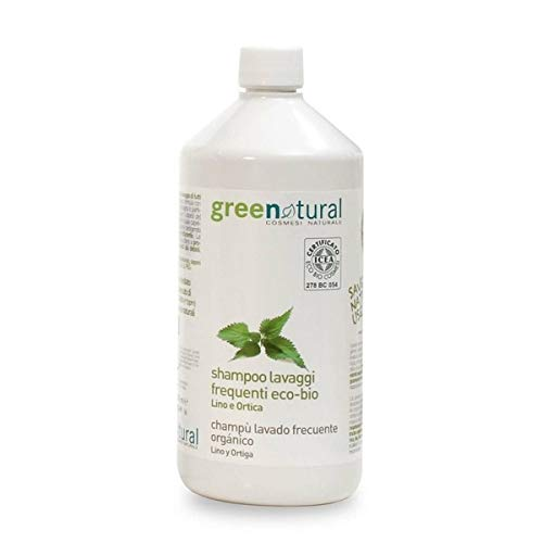 Shampoo Capelli Lavaggi Frequenti - LINO E ORTICA - Greenatural -