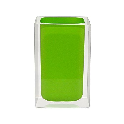 Grund z22280105 Cube Mug 7 x 7 x 11 cm Vert Accessoires, Céramique, 7 x 7 x 11 cm
