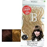 Balmain Fill-In Extensions Value Pack Natural Straight- 20, medium Pearl blond
