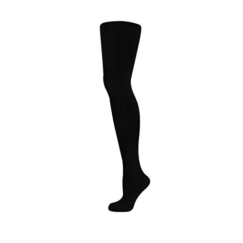 9500 Farbe (Elbeo Strumpfhose Perfect Curves Cotton 1er Pack, Größe:44-46;Farbe:schwarz (9500))