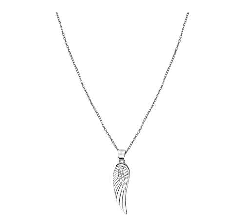 SOFIA MILANI Damen Halskette Flügel Anhänger Silber 50214