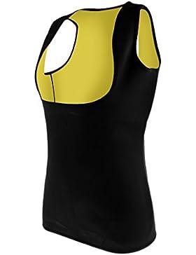 MagiDeal Gilet Snellente Felpa Termica Abbigliamento Di Donna Per Ciclismo Yoga Neoprene