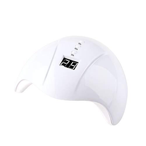 JOYKK 36W Asciugacapelli Lampada per Unghie Lampada per Gel Gel Smart Induzione ad Asciugatura Rapida Spa - Bianco